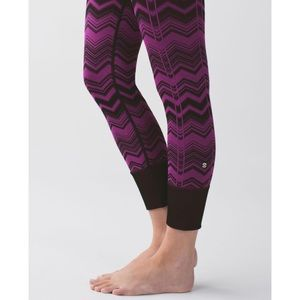 Lululemon Ebb to Street Heathered Regal Plum Pant